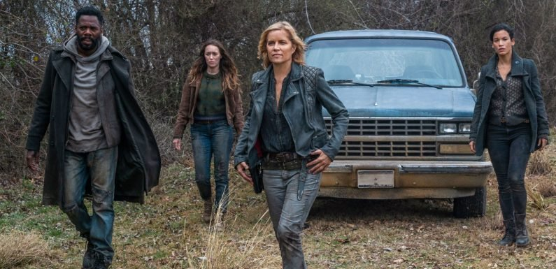 Fear the Walking Dead is going to air from the start on E4