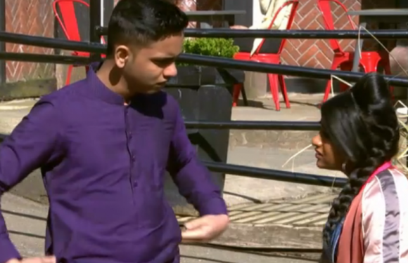 Hollyoaks sees tensions mount in the Maalik family as Misbah tells Yasmine about Imran's violent behaviour