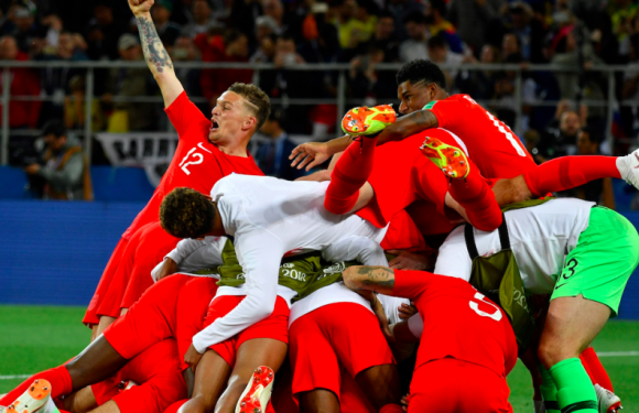 England vs Colombia was the craziest World Cup match so far