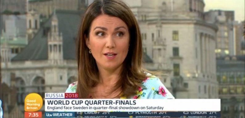 Good Morning Britain's Susanna Reid hits back at critics saying she should quit the show