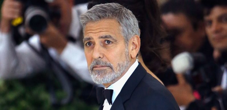 George Clooney hospitalised after motorbike crash in Italy