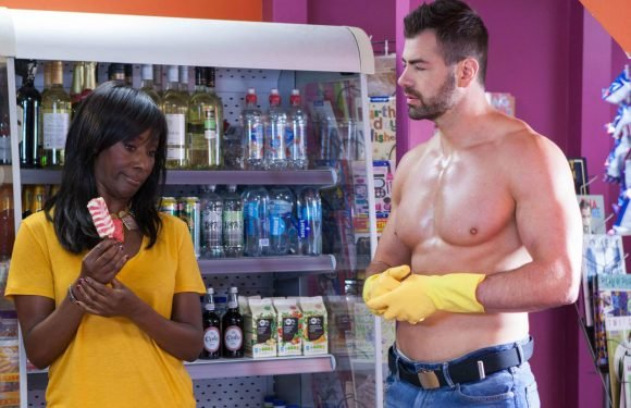 Hollyoaks hints at a surprise romance for Simone Loveday and Sylver McQueen