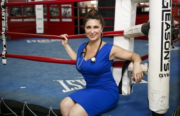 This woman bandaged up boxing's biggest stars