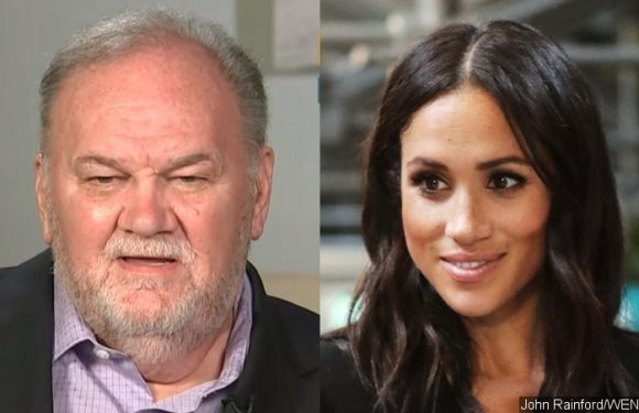 Meghan Markle's Dad Says She's 'Terrified' of Her New Royal Life