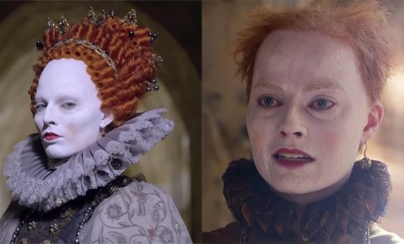 Margot Robbie Shocks With Pale Makeup & Thinning Hair As Queen Elizabeth I — See Transformation