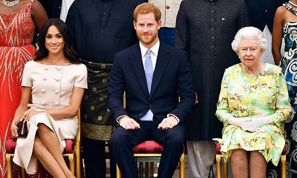 Prince Harry & Meghan Markle: Can They Ever PDA In Front Of The Queen? The Truth