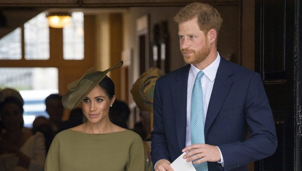 Meghan Markle: Gorgeous In Olive Green At Prince Louis' Christening