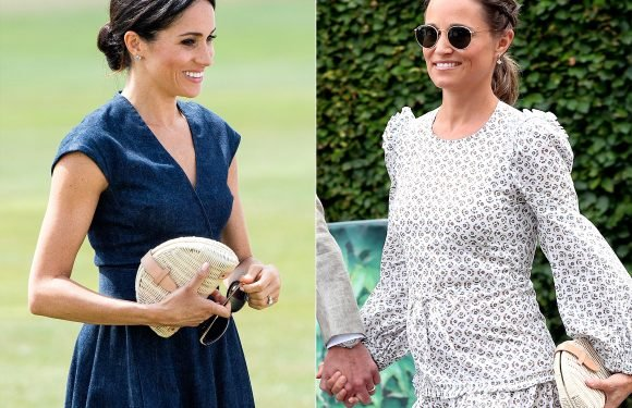 Meghan Markle Channels Pippa Middleton, Using Same $70 Clutch Kate's Sister Took to Wimbledon