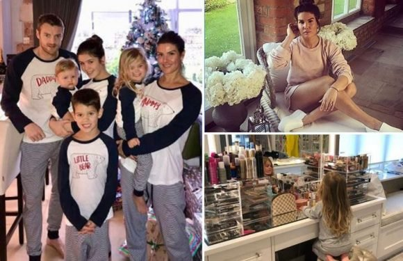 Inside Jamie and Becky Vardy's lavish mansion with huge sofas, glam beauty room and massive garden
