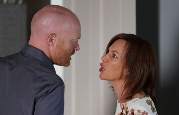 Max Branning has shock kiss with Rainie on EastEnders