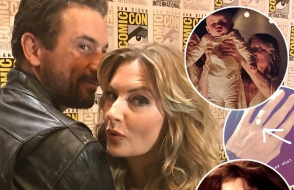 'Riverdale' Stars Skeet Ulrich and Mädchen Amick Tease Falice 'Speed Bumps', THAT Ring Photo and Cult