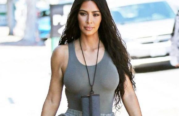 Kim Kardashian Just Wore a Velcro Wallet Lanyard—Thoughts?