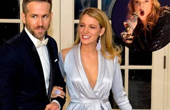 Inside Blake Lively and Ryan Reynolds' Night at Taylor Swift Show