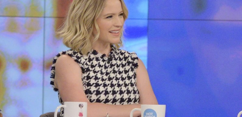 Sara Haines is leaving 'The View'