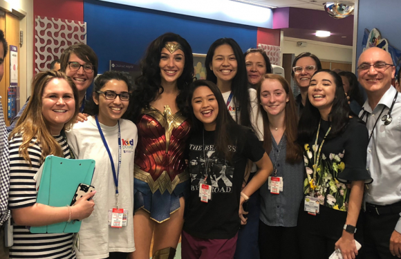 Gal Gadot Transforms into Wonder Woman for Surprise Children's Hospital Visit