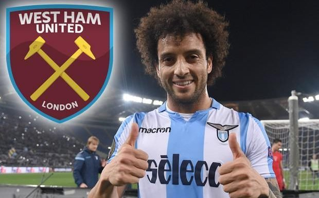 West Ham set to shatter transfer record with £50m deal for Lazio star Felipe Anderson