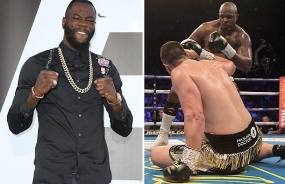 Dillian Whyte has Deontay Wilder in his sights after sensational win over Joseph Parker