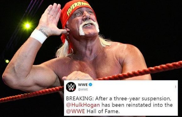 Hulk Hogan reinstated into WWE Hall of Fame despite racism shame