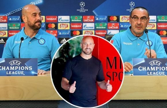 Chelsea close to signing Pepe Reina from AC Milan in £9m deal just days after he was unveiled by Italian club