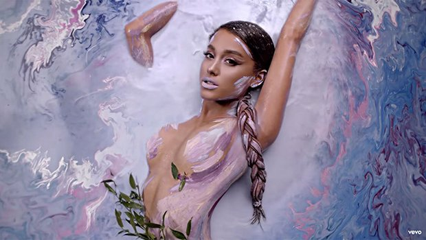 Stars Looking Sexy Wearing Nothing But Body Paint: Ariana Grande & More