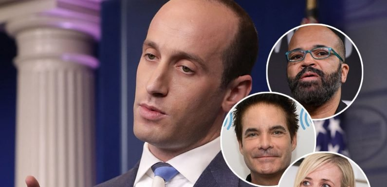 Hollywood Drags Stephen Miller for Throwing Away Sushi in Tantrum After Getting Harassed on the Street