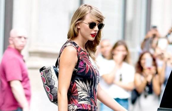 Taylor Swift Wears Snake Backpack Two Years After Kim K's Snake Tweet