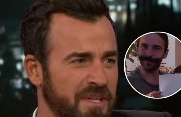 Justin Theroux Slid Into 'Queer Eye' Stars' DMs and Taught Them About Vaginas