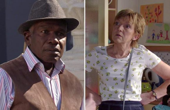 EastEnders fans in hysterics as Jean Slater accuses Patrick Trueman of hiring Hayley Slater as a prostitute