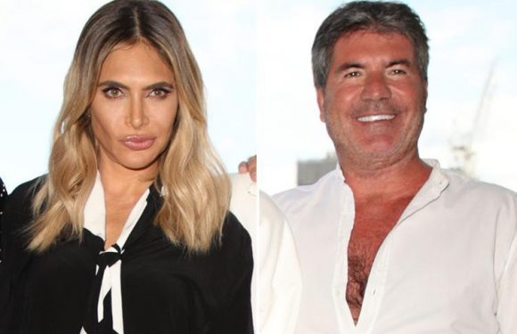 Robbie Williams' wife Ayda Field clashes with Simon Cowell on X Factor — and wins