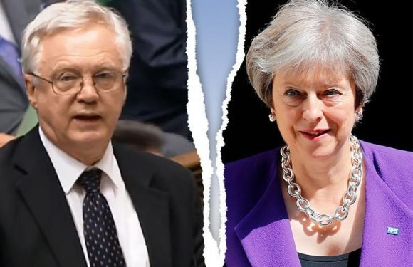 David Davis holds crunch talks with Theresa May over her 'too soft' Brexit plan