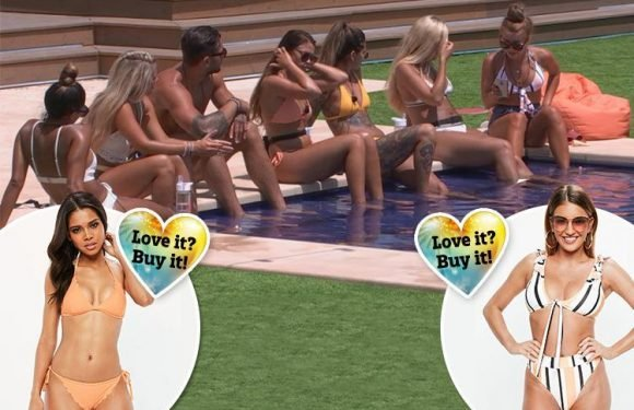 How to get tonight's Love Island outfits… from Dani Dyer's striped bikini to Jack's ex Ellie's orange one