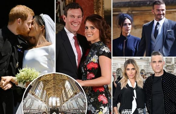 How Princess Eugenie is copying Meghan Markle's wedding, from the VERY A-list guest list to the lavish Windsor venue