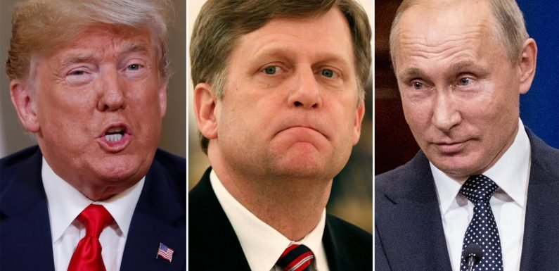 Trump may turn over former US ambassador to Putin