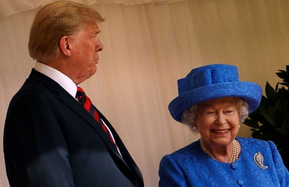 Trump raves about 'beautiful' Queen, makes confusing UK comment