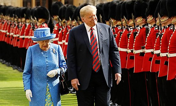 Trump Makes Major Royal Faux Pas While Meeting Queen Elizabeth: What Happened