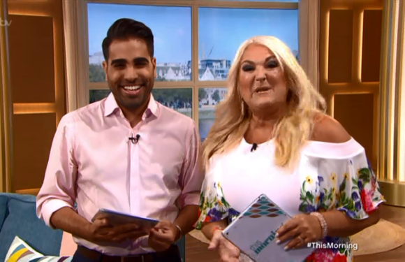 This Morning's Dr Ranj reveals he's stuffed panty liners in his armpits to stop him sweating through his shirt as he's so nervous about hosting debut with Vanessa Feltz
