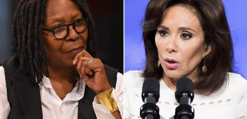 Jeanine Pirro to Whoopi Goldberg: Let's agree to disagree