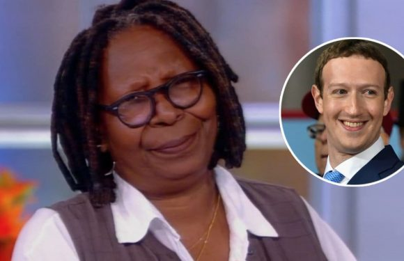 Whoopi Goldberg Barely Holds Back F-Bomb on 'The View' While Tearing Into Mark Zuckerberg Over Holocaust Deniers