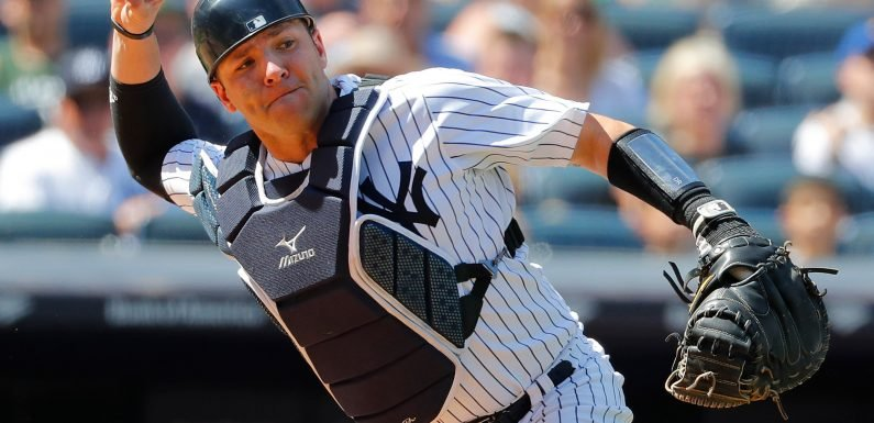 Yankees lose another catcher and now have a problem