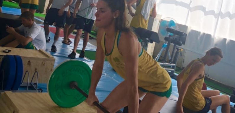 Dolphins out of water: Flat-pack gym has team pumped for Pan Pacs