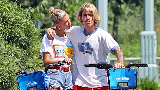 Why Is Justin Bieber Sobbing on a CitiBike with Hailey Baldwin?
