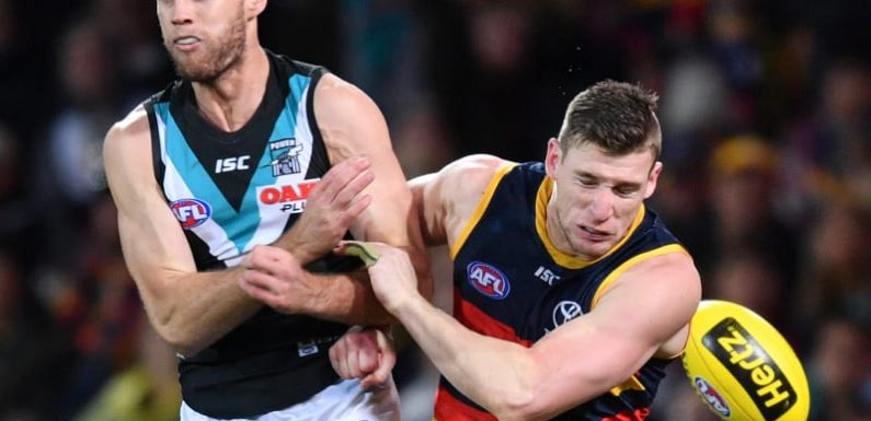 Showdown lowdown: AFL says no solution for 'high up' score reviews
