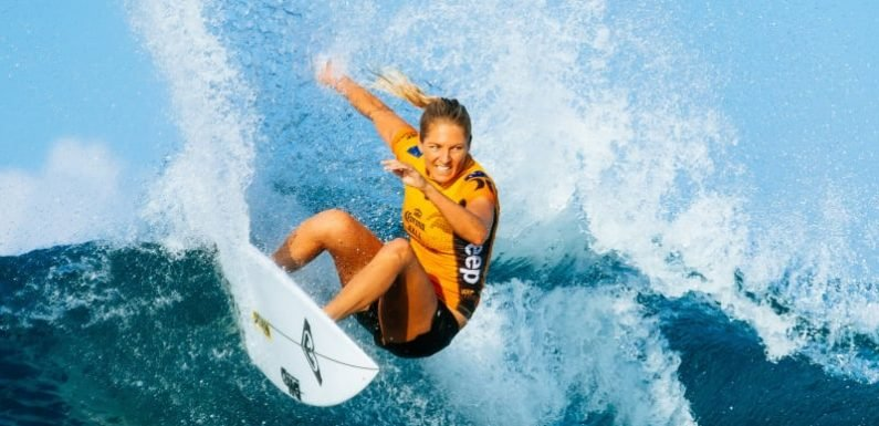 Gilmore joins surfing's Walk of Fame