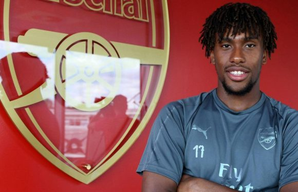 Iwobi breaks silence on late-night partying incident