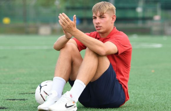 Smith Rowe reveals what Arsenal team-mates did after his Atletico goal
