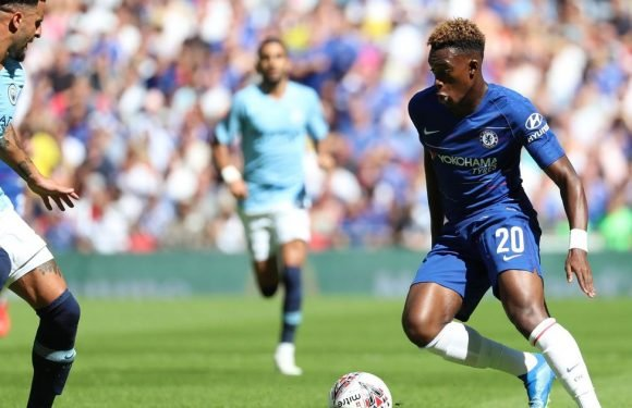 What fans made of Hudson-Odoi's performance in Community Shield