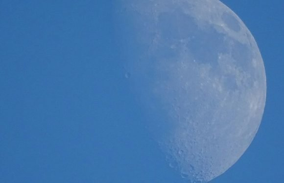 Moon will be visible during the day this week – here's why