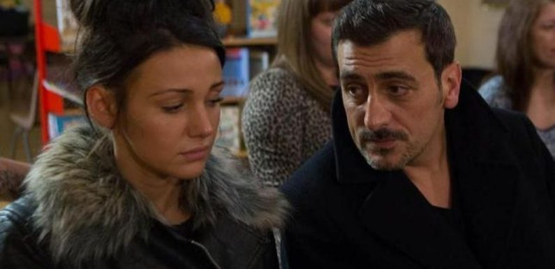 Corrie's Tina McIntyre 'returns' as Carla tests relationship with Peter