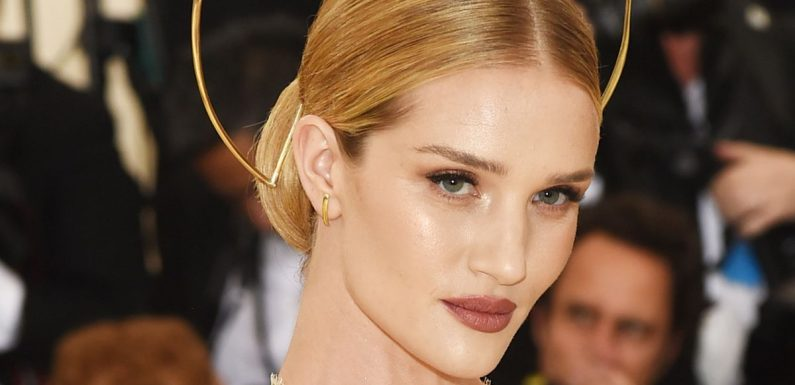 Rosie Huntington-Whiteley shares sweet family picture with Jason Statham and son