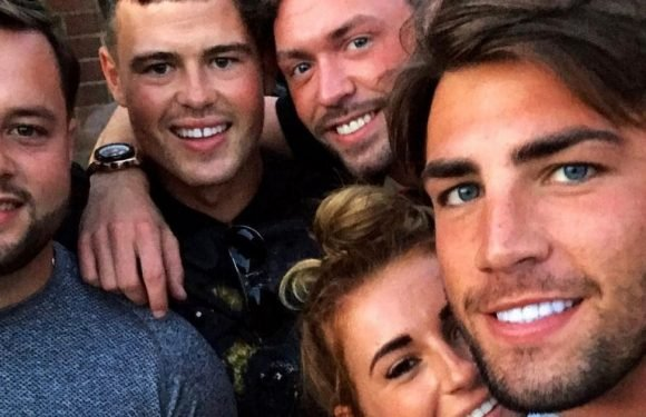 Love Island winner Dani Dyer meets boyfriend Jack Fincham's family and friends